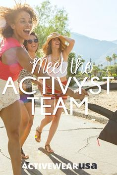Get inspired by the founders of a top ActivewearUSA brand who are dedicated to helping young women everywhere be healthier, stronger and more successful. #inspiration #activyst