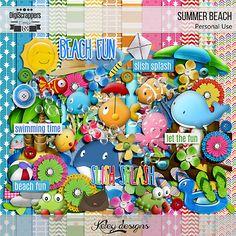 Summer Beach by Keley Designs