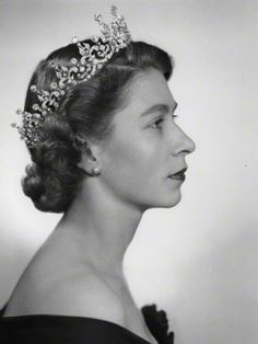 Queen Elizabeth II. Classy and determined.  I love her! (and I am not even British)