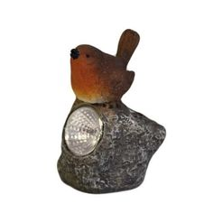 Solar Light - Robin Bird Light up the late summer/ early autumn evenings with this chirpy chap and his friends