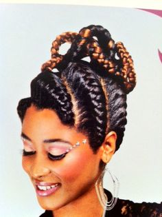 Swell Beautiful African Braids And Goddesses On Pinterest Hairstyles For Women Draintrainus