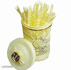Food Strainers  one Cocktail Fork Set for Kitchen Material: Stainless Steel & Silicone Dimension (L X B X H): 10 cm x 10  cm x 5 cm Description: It Has 1 Piece Of  ll In one Cocktail Fork Set for Kitchen Sizes Available: Free Size *Proof of Safe Delivery! Click to know on Safety Standards of Delivery Partners- https://ltl.sh/y_nZrAV3  Catalog Rating: ★3.8 (500)  Catalog Name: Free Gift Dream Home Unique Kitchen Storages Vol 5 CatalogID_314370 C135-SC1649 Code: 871-2353902-