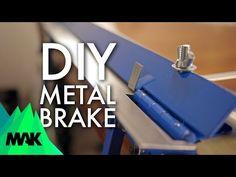 Simple Sheet Metal Brake: No Welding