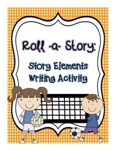 "This activity helps students practice identifying the 5 story elements and put them to use with a fun writing activity. Students make story cubes for each of the 5 story elements, then roll the dice to see what their story will be about. Product includes a ""How to Use this Product"" page, 5 story cubes with story element descriptions and a writing prompt worksheet."