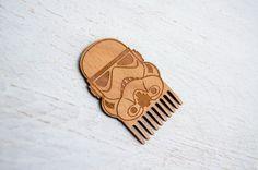 Beard Comb Star Wars Clone Trooper Star Wars man gift Christmas gift for him