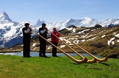 Alpenhorns at Balchapsee