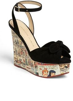Charlotte Olympia 'Archie' Wedge Sandal (Nordstrom Exclusive) on shopstyle.com