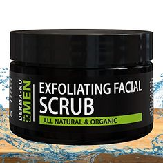 Exfoliating Facial Scrub for Men By Derma-nu - Unclogs Pores * You can find more details by visiting the affiliate link Amazon.com. Oily Skin Care, Facial Skin Care, Skin Care Tips, Dry Skin, Ingrown Facial Hair, Prevent Ingrown Hairs, Unclog Pores, Exfoliating Scrub, Facial Scrubs