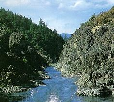 Rogue River, near Galice/Merlin Oregon...for years and years this was our summer vacation/two or three times...camping/kayaking...family and kids...was awesome to kayak the Rogue River