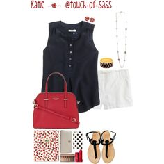 ❤️❤️❤️ by touch-of-sass on Polyvore featuring J.Crew, Kate Spade, Tory Burch, Halcyon Days, Urban Decay and Fresh