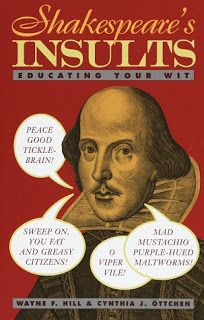 Shakespeare's Insults: Educating Your Wit #Shakespeare #Insult #Book