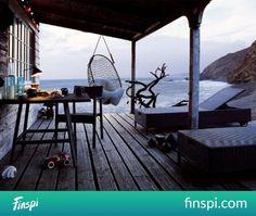 Swing ♥ #decor #interior #swing #veranda