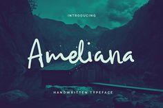 Ameliana by Get Studio on @Graphicsauthor