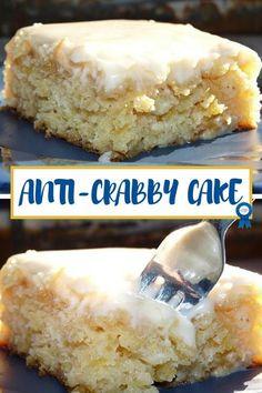 Easy Desserts, Delicious Desserts, Yummy Food, Baking Desserts, Cake Recipes, Dessert Recipes, Dessert Ideas, Vegetarian Cake, Cake Ingredients