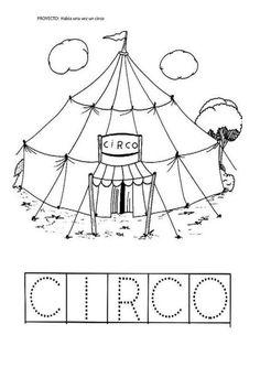 El rincón de infantil: Habia una vez un circo
