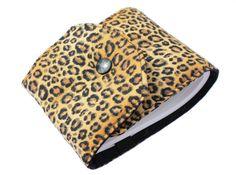 porte chéquier léopard long par Kipapee sur Etsy