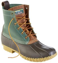 Women's Bean Boots by L.Bean, Limited-Edition Colorblock at L. Bean Boots Outfit, Ll Bean Boots, Womens Boots On Sale, Boots For Sale, Slip On Boots, Shoe Boots, Flat Boots, Women's Boots, Brown Boots