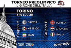 Un solo posto, un solo obiettivo: #Rio2016!Il 4 luglio tutti a Torino a spingere forte l'Italbasket verso il Brasile!#RoadToRio #Preolimpico #Torino #ItalBasket...
