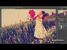 Efecto Nashville de Instagram con Photoshop CS6 - YouTube