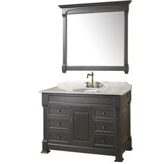 Wyndham Collection vanity Available through our showroom #ACharmedLifeAtHome
