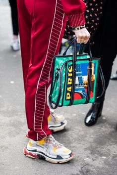 222463c06f7 Click through for the best street style looks spotted at Paris Fashion Week  Fall Winter as captured by Sandra Semburg.