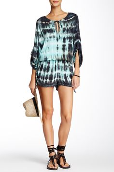 74b5ba299df Adorable Tie Dyed Romper Indie Fashion