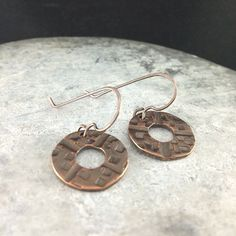 Hammered copper.