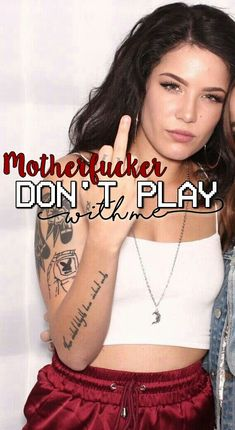 Halsey wallpaper don't play lyrics