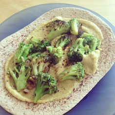 blackened broccoli wrap with hummus simple vegan recipe the little foxes ashlee piper