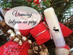 Vyrobte si samé: vianočný balzam na pery http://www.bioblogerinas.sk/diy-prirodny-vianocny-balzam-na-pery/