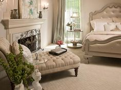 Images and Ideas for Creating a Romantic Bedroom : Home Improvement : DIY Network