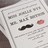 a whole lot of save-the-date and invitation designs, online personalisation and ordering.
