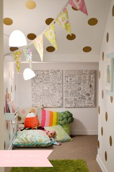 the secret nook under the stairs from Daffodil Design