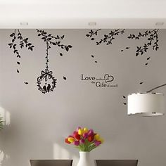 Wall Stickers Wall Decals,  Modern The branches PVC Wall Stickers – USD $ 25.99