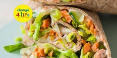 Healthy recipe: Salmon and cucumber wraps