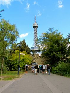 something interesting to note - inspired by the Eiffel Tower, the Petrin Tower was built within 4 months in 1891 for the General Land Centennial Exhibition. Prague Attractions, Local Attractions, Prague Old Town, Old Town Square, Holidays 2017, Travel Deals, Hotel Reviews, Best Hotels, Cn Tower