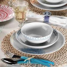 Mitterteich 866816 Desen 24 Parça Yemek Seti Lacivert GittiGidiyor'da 314040432 Bone China Dinnerware, Iftar, Kitchen Tools, Tea Cups, Pasta, Tableware, Diy Kitchen Appliances, Kitchen Gadgets, Dinnerware