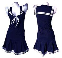 Halloween Women's Sailor Costume - Sexy 5 Piece Set   Halloween ...