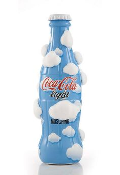 Coca Cola Light Blue Art Sculpture by Moschino
