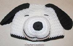 Snoopy Hat - Crochet Me