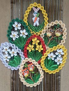 13 Paper Quilling Design Ideas That Will Stun Your Friends Neli Quilling, Paper Quilling Cards, Paper Quilling Tutorial, Paper Quilling Patterns, Quilling Craft, Quilling Christmas, Quilling Techniques, Flower Making, Easter Crafts