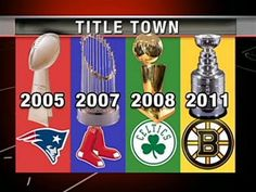 Title Town! Boston your my home!