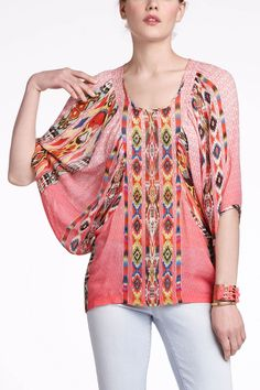 Shivali Dolman Top - Anthropologie. So cute, it should be illegal.