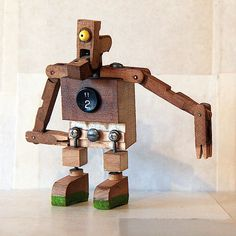 New version of the small robot sculptures made from old piano parts. Piano Crafts, Piano Art, Old Pianos, Piano Keys, Music Decor, Playpen, Altered Art, Repurposed, Pump Organ