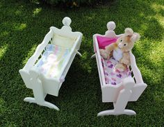 Hanging/swinging Doll Cradle - Ready To Ship