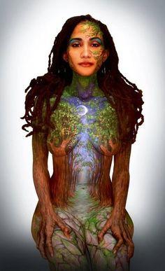 Psy Art, Human Art, Woman Painting, Painting Art, Skin Art, Looks Cool, Face Art, Body Art Tattoos, Face And Body