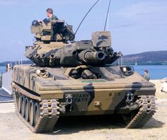 Sheridan - I actually owned this tank at one point in time! Military Armor, Military Weapons, Army Vehicles, Armored Vehicles, Sheridan Tank, Tank Armor, Armored Fighting Vehicle, Battle Tank, World Of Tanks