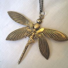 Dragonfly Fairy Necklace £9.50