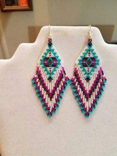 Native American Style Beaded Turquoise by BeadedCreationsetc