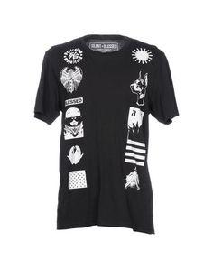 SILENT + BLESSED Men's T-shirt Black L INT